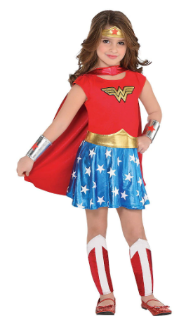 Toddler Wonder Woman Costume Party City